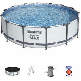 Бассейны - Каркасный бассейн Bestway 427/107 новый, 0