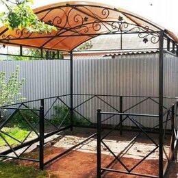Комплекты садовой мебели - Навесы беседки из металла и профлиста, 0