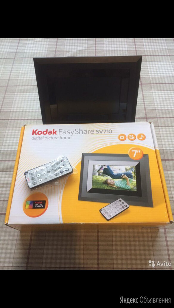 Фоторамка  kodak easyshare sv710 по цене 800₽ - Цифровые фоторамки и фотоальбомы, фото 0