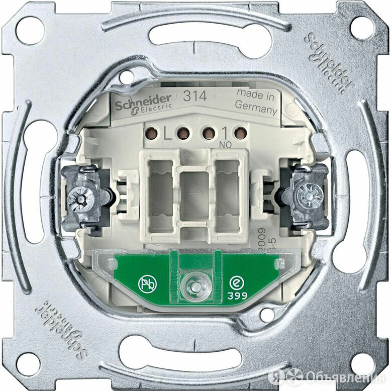 Механизм выключателя Schneider Electric Merten карточного с подсветкой, 10 А по цене 1908₽ - Другое, фото 0