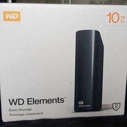 Внешние жесткие диски и SSD - Внешний жесткий диск WD elements desktop 10 тб, 0