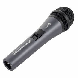 Оборудование для звукозаписывающих студий - Микрофон динамический Sennheiser E825-S. Доставка, 0