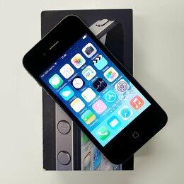 Мобильные телефоны - Смартфон Apple iPhone 4 0.5ГБ 16ГБ Black чёрный, 0