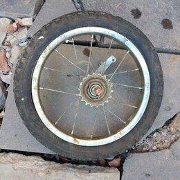 Обода и велосипедные колёса в сборе - Заднее колесо детского велосипеда, 0