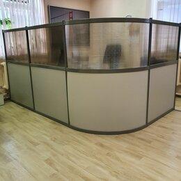 """Мебель для учреждений - Универсальная офисная 4-х секционная перегородка фирмы """"Дэфо"""", 0"""