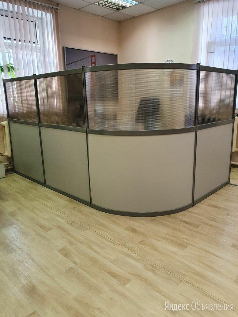 """Универсальная офисная 4-х секционная перегородка фирмы """"Дэфо"""" по цене 17195₽ - Мебель для учреждений, фото 0"""