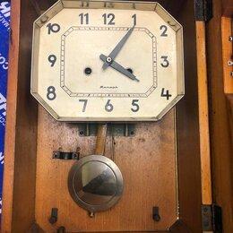 Часы настенные - Часы янтарь механические с боем механизм, 0