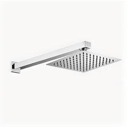 Комплектующие - Верхний душ BelBagno Romano 200мм держатель из стены хром ROM-SLD-CRM, 0