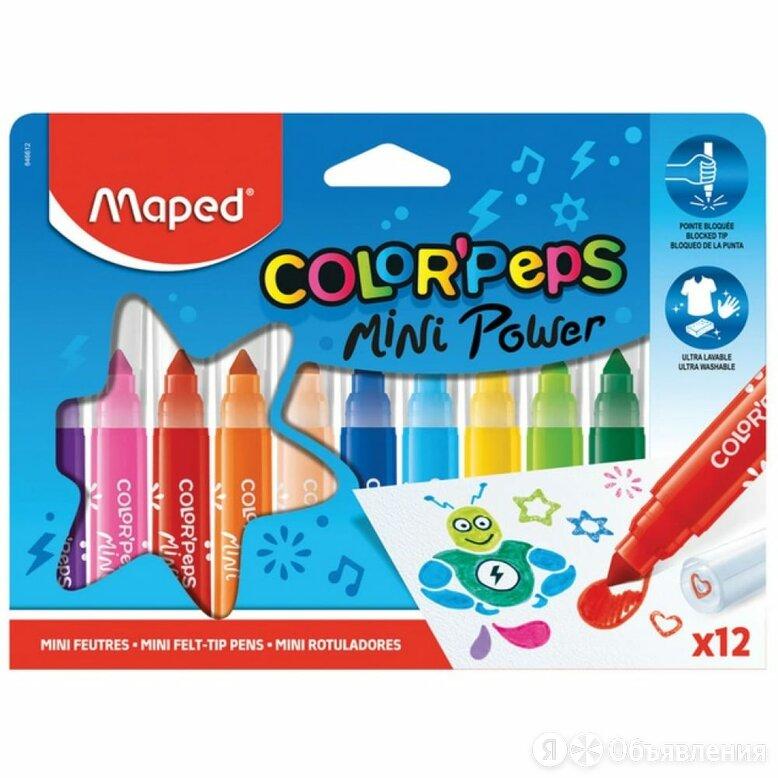 Фломастеры Maped Color'Peps Jumbo Mini по цене 585₽ - Канцелярские принадлежности, фото 0