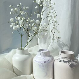 Вазы - Сканди ваза из гипса, 0