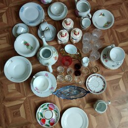 Тарелки - Посуда разная б/у, 0