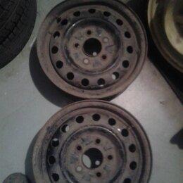 Шины, диски и комплектующие - 14''x5,5JJ 5x114,3 DIA (ЦО) 67,1 мм Штампы Чёрные (1 + 1 править), 0