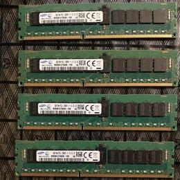 Модули памяти - Samsung DDR3 32Gb 4x8gb 1600Mhz Ecc Reg Cерверная, 0