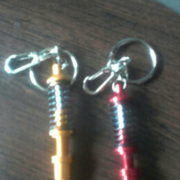 Брелоки и ключницы - Автомобильный брелок пружинный, 0