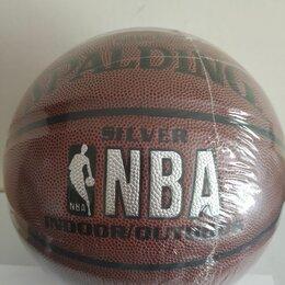 Мячи - Баскетбольный мяч Spalding NBA Silver., 0