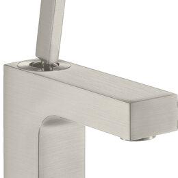 Краны для воды - Смеситель Axor Citterio 39015800 для раковины, сталь, 0