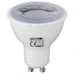 Лампочки - Лампа светодиодная Horoz Electric 001-022-0006 GU10 6Вт 4200K HRZ00002216, 0