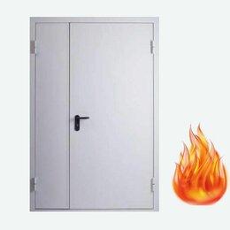 Входные двери - Дверь противопожарная металлическая двухстворчатая , 0