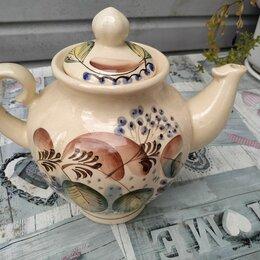 Заварочные чайники - Конаковский фаянс большой чайник, 0