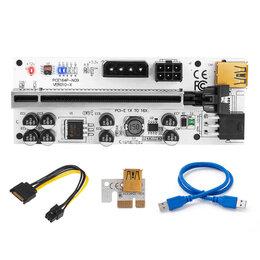 Компьютерные кабели, разъемы, переходники - Райзер pci-e 010X, 0