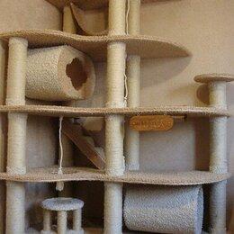 Когтеточки и комплексы  - Домик с когтеточкой для кошки даром, 0