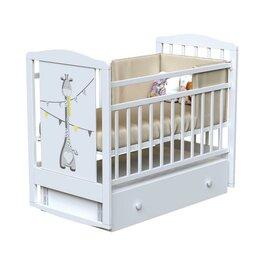 Матрасы и наматрасники - Кровать детская DREAM - DINO маятник с ящиком (Bianco), 0