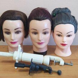 Принадлежности для парикмахерских - Голова манекен, штатив, 0