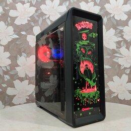 Настольные компьютеры - Игровой компьютер ryzen 5 1600x/rx 570/16/ SSD 120, 0