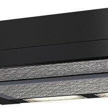 Вытяжки - KAMILLA 600 black (1 мотор) вытяжка кухонная, 0