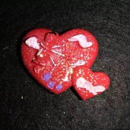 Игрушки-антистресс - Магнит сердце 221 2х2см, 0