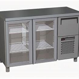 Прочее оборудование - Стол холодильный Carboma BAR-250C (R) 126x57x85см, (012334), 0
