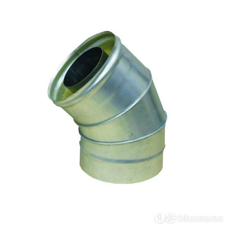 Сэндвич-колено 135° (430/0,5мм + оц.) 160х250 по цене 2342₽ - Изоляционные материалы, фото 0