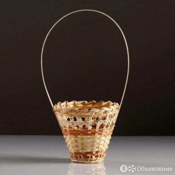 Корзина Стакан 14×16см бамбук по цене 115₽ - Аксессуары и средства для ухода за растениями, фото 0