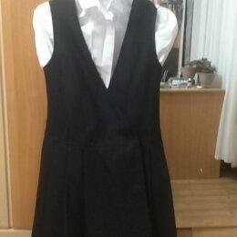 Комплекты и форма - Школьный сарафан с сорочкой, 0