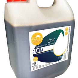 Ингредиенты для приготовления напитков - Концентрированный сок «Слива» 5 кг., 0