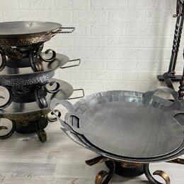 Аксессуары для грилей и мангалов - Садж 45 см стальной, 0