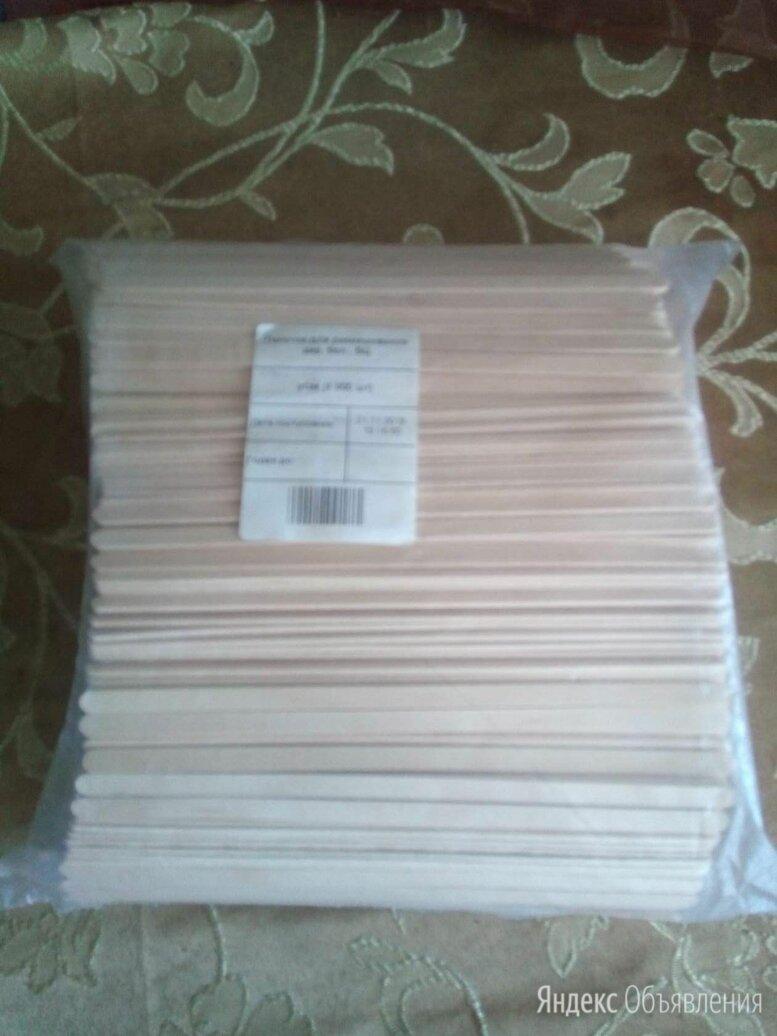 Деревянные одноразовые размешиватели, 18 см, 1000 шт  по цене 300₽ - Аксессуары, фото 0