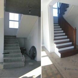 Лестницы и элементы лестниц - Обшивка бетонной лестницы, металлокаркаса, 0
