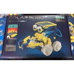 Роботы и трансформеры - Робот-конструктор на солнечной батарее 11 в 1 Solar Robot build and learn, 0