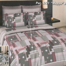 Постельное белье - Комплект постельного белья Нежность Сакуры Семейный поплин , 0