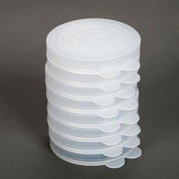 Крышки и колпаки - Крышки полиэтилен для холодн. 10шт/уп, цена за уп, Радиан, бесцв., ГОСТ, вес ..., 0