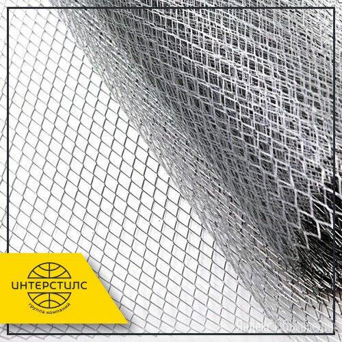 Сетка штукатурная 4x4x1,2 мм 0,7-2,3 м оцинк. по цене 167₽ - Металлопрокат, фото 0