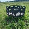 """Костровая чаша """"Лошади"""" с подставкой под шампура или гриль по цене 12000₽ - Очаги для костра, фото 0"""