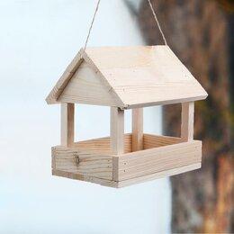Игрушки и декор  - Kopмушка для птиц, 25 × 21 × 25 см, 0