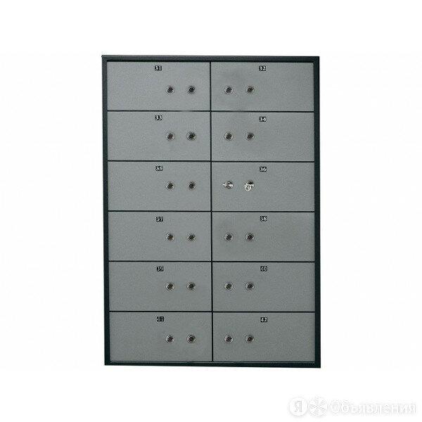 ПРОМЕТ Блок депозитных ячеек DB-12.DGL по цене 86904₽ - Мебель для учреждений, фото 0