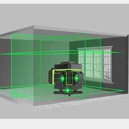 Измерительные инструменты и приборы - Лазерный уровень (нивелир) Hilda 16 ЛИНИ 360 с экраном, 0