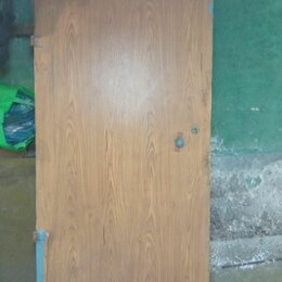 Входные двери - Дверь металлическая входная б.у. , 0