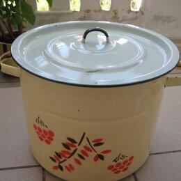 Наборы посуды для готовки - Кастрюля эмалированная  10 литров , 0