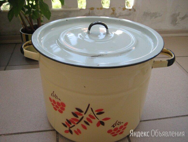 Кастрюля эмалированная  10 литров  по цене 700₽ - Наборы посуды для готовки, фото 0