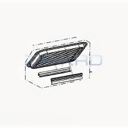 Решетки - Решетка гриль для микроволновки Panasonic NN-DS592M, 0